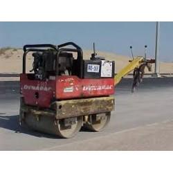 Rouleau vibrant diesel à timon de 600 à 850 kilos