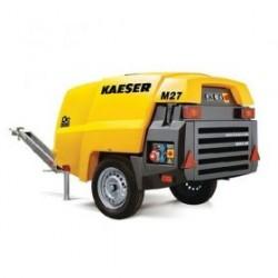 Compresseur d'air - moteur diesel débit : 2700 L/m - pression 7 bars