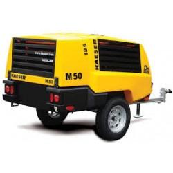 Compresseur d'air - moteur diesel débit : 5000 L/m - pression 7 bars