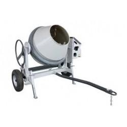Bétonnière pro moteur essence 350 L (tractable)