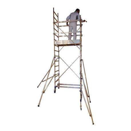 echafaudage roulant alu pour escalier jp besancon. Black Bedroom Furniture Sets. Home Design Ideas
