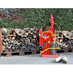 Fendeuse de bûches électrique 220 V mono dégagement : 0,55 m - poids 140 kilos