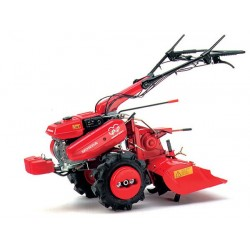 Motoculteur (fraise+charrue) moteur essence 4 temps