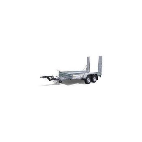 Remorque 2 essieux - CU 2800 kilos attache boule ou anneau